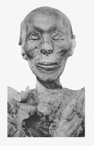 Thutmose II mummy head
